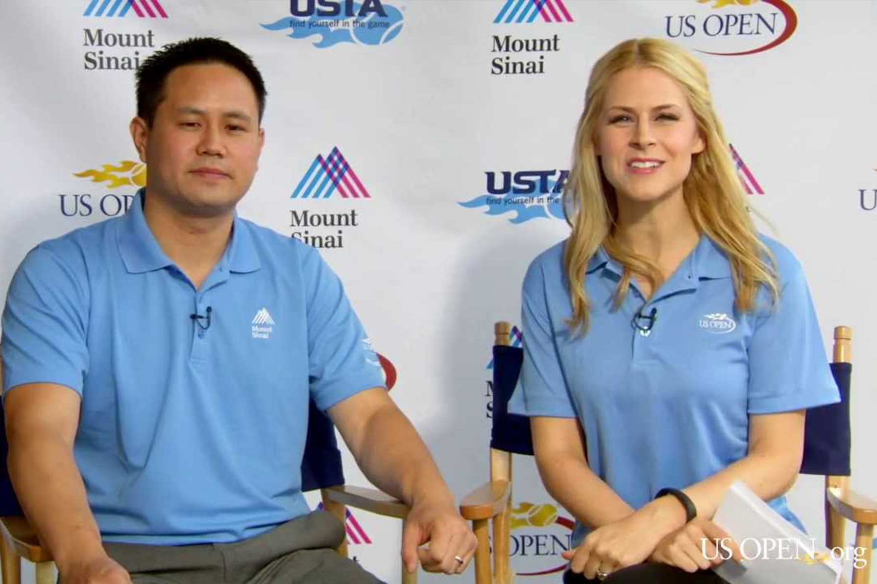 Dr. Chen Talks Arthritis in Athletes at the US Open