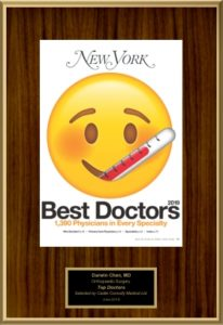 New Yorker Best Doctor 2019 Emblem