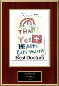 New Yorker Best Doctor 2020 Emblem