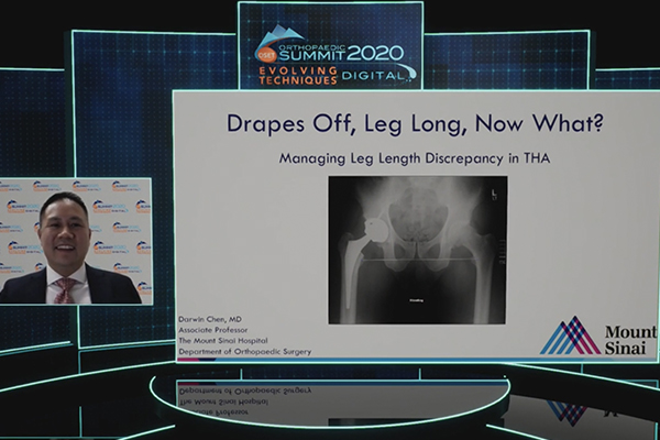 Darwin Chen Orthopaedic Summit 2020